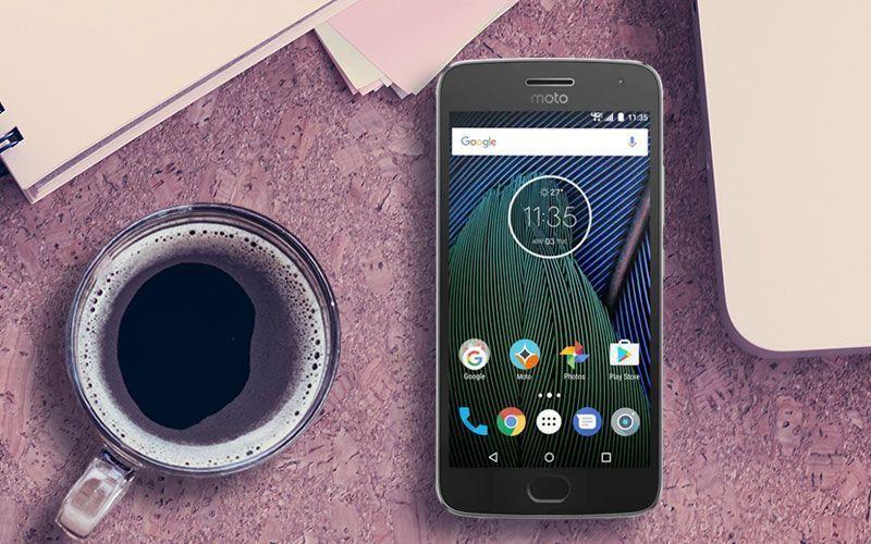 Moto G5 Plus Display