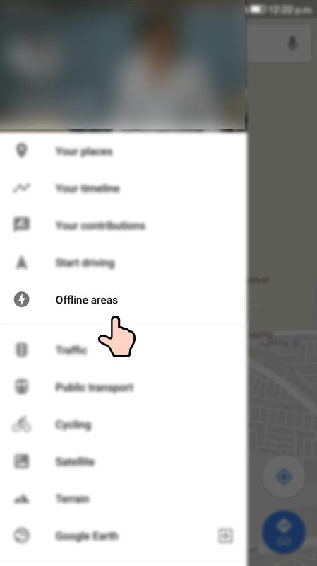 Maps Offline Step 5
