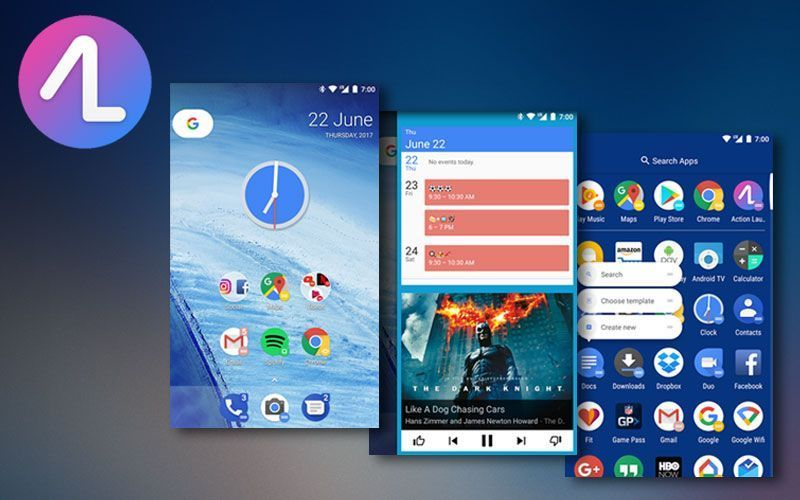 action launcher full version free