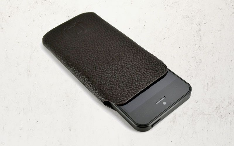 Dockem Synthetic Leather Sleeve for iPhone