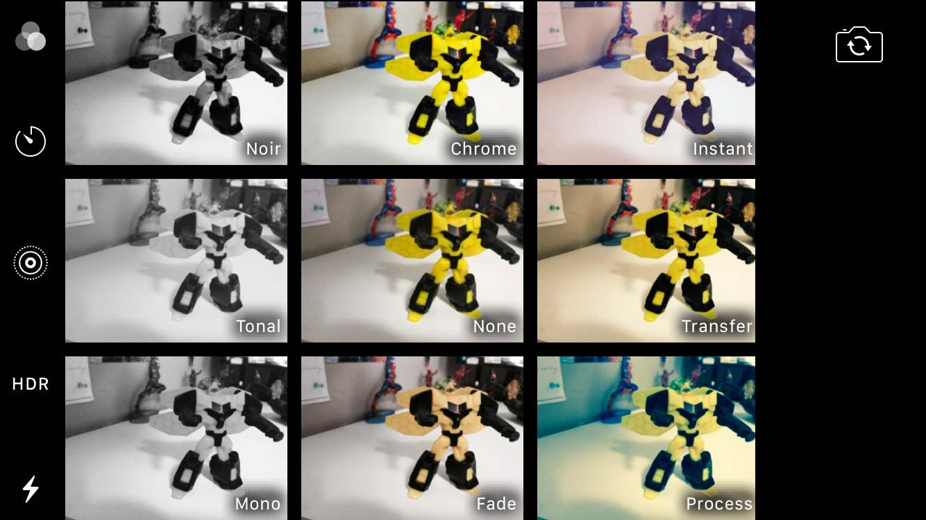 iPhone Camera Filters