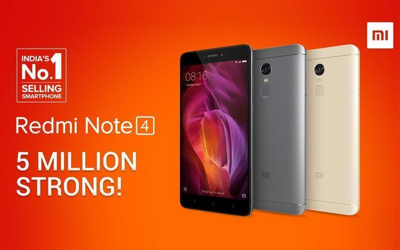 Redmi Note 4 available online in India for open sale