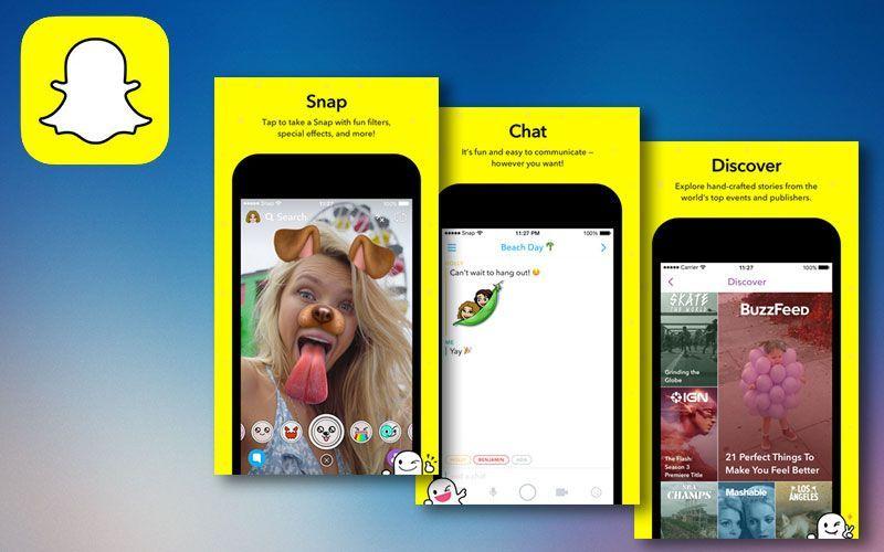 Snapchat iOS 10