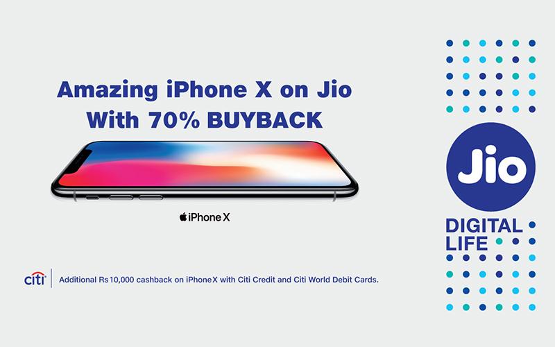 iPhone X Jio