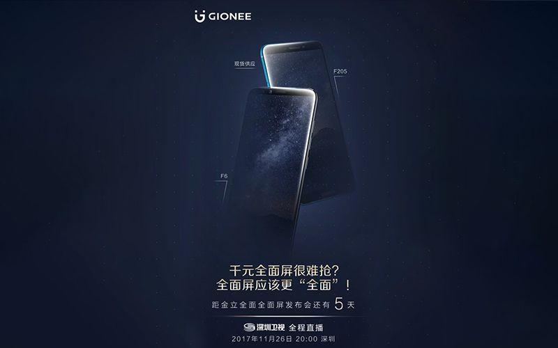 Gionee F6