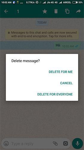 Delete For Everyone