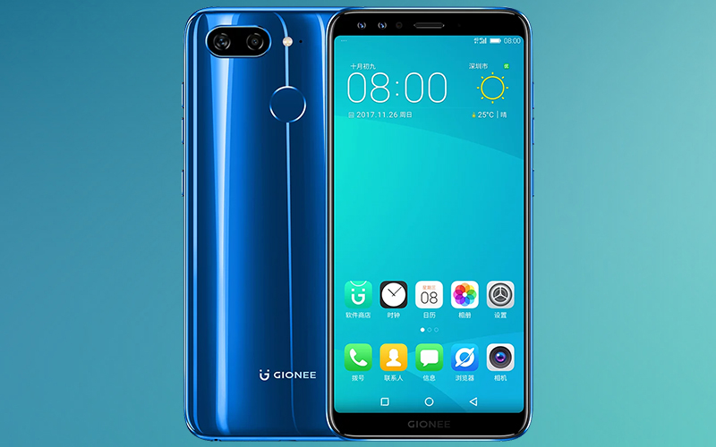 gionee s11 with four cameras to launch in india in january mobiledekho. Black Bedroom Furniture Sets. Home Design Ideas