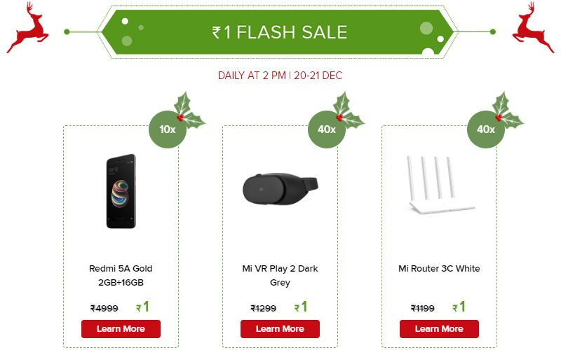 Xiaomi No.1 Mi Fan Sale from Dec 20: Top deals on Redmi Note 4, Mi Mix 2, and more