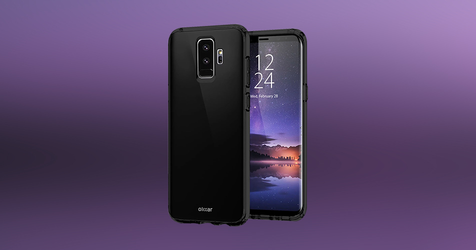 samsung galaxy s9 smart cases surface ahead of launch mobiledekho. Black Bedroom Furniture Sets. Home Design Ideas