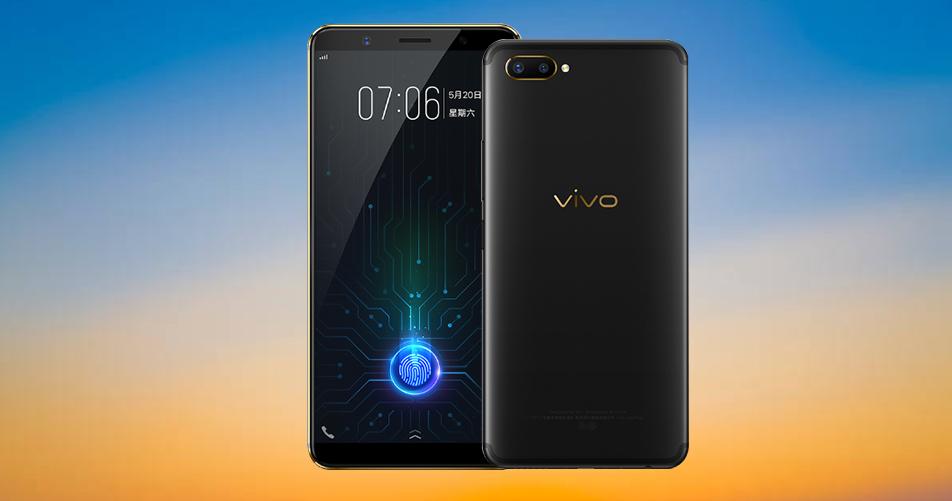 world 39 s first in display fingerprint sensor phone vivo x20 plus ud launched mobiledekho. Black Bedroom Furniture Sets. Home Design Ideas