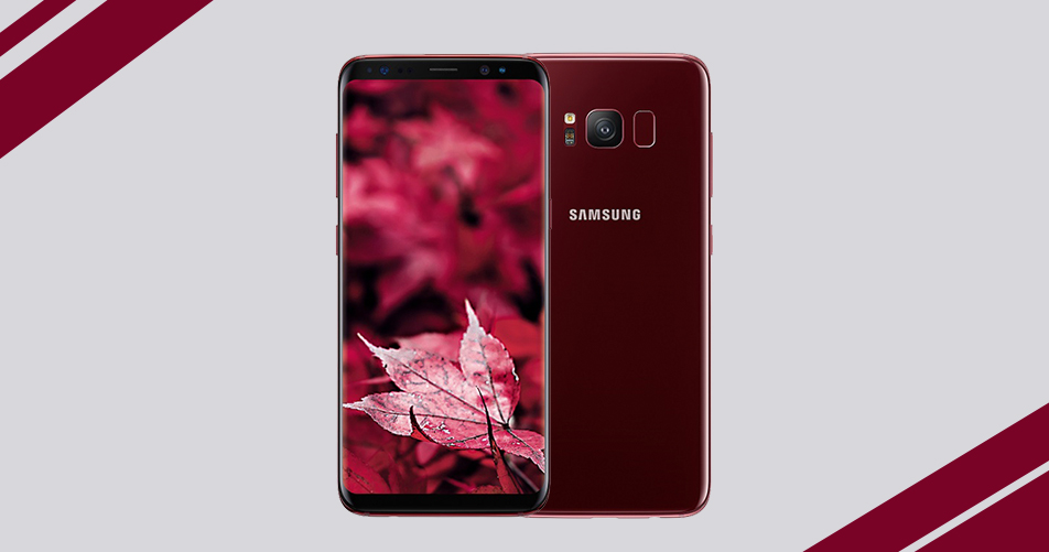 samsung galaxy s8 in burgundy red comes to india mobiledekho mobiledekho. Black Bedroom Furniture Sets. Home Design Ideas